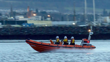 Kessock RNLI lifeboat stock shot