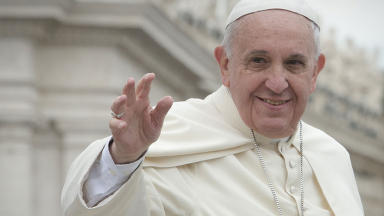 Pope Francis: Considering a visit to St Andrews.