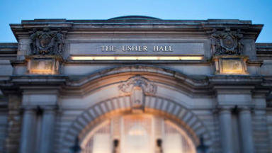 Attraction: The Usher Hall is part of the Edinburgh Cultural Venues group (file pic).