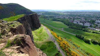 Quality image of Holyrood Park, Edinburgh.