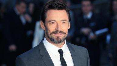 Superstar: Hugh Jackman showed his support to Dunnottar School.