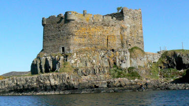 Remote: Mingary Castle on the Ardnamurchan Peninsula, is nearby the proposed filming location.