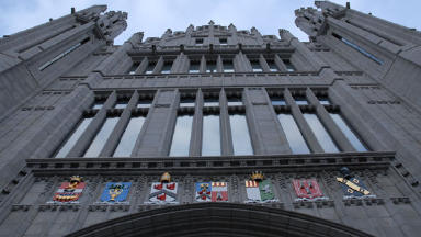 Marischal College: Aberdeen Council headquarters.
