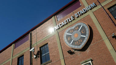 Home: Hearts will remain at Tynecastle Stadium