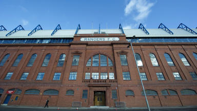 Ibrox: Rangers release financial figures (file pic).