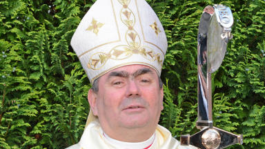 Joseph Toal: The Bishop was conducting the annual Mass.