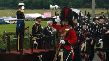 Events: The field was the venue for the Stirling Armed Forces Day in 2014.