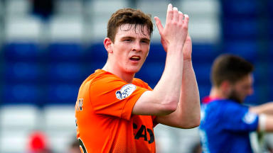 Andrew Robertson, Dundee United defender