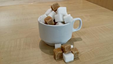 Diet advise: Scots are being advised to eat less sugar and more fibre (file pic).