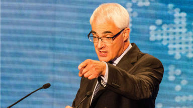 STV Debate 3 Alex Salmond Alistair Darling August 5, 2014.