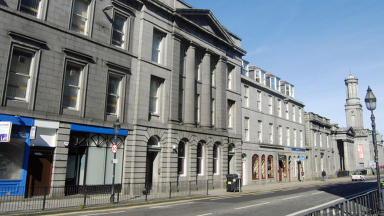 King Street in Aberdeen locator. Creative Commons, Geograph