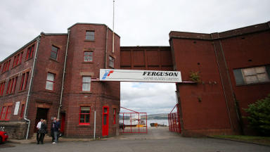Ferguson's Shipbuilding in Port Glasgow Inverclyde uploaded August 15 2014