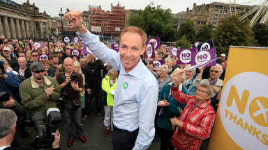 Internationalist: Murphy rejects 'Unionist' label.