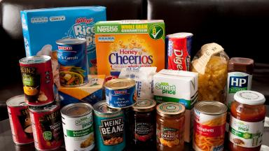 Food bank: Various items were stolen (file pic).