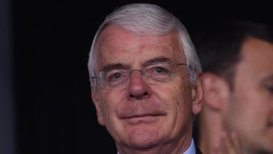 Former Prme Minister John Major.