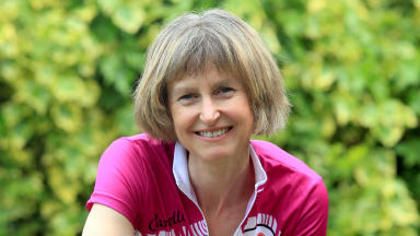 Sally Preece: Mother-of-two died after she was hit by car during charity cycle.