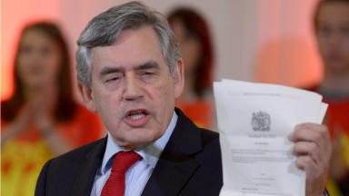 Gordon Brown: New role at US-based firm.