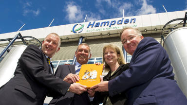 Bid: Hampden is vying to be one of the 13 host cities being selected for the 2020 European Championships.