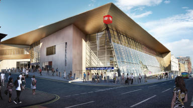 Revamp: The project includes improvements to Queen Street Station in Glasgow.