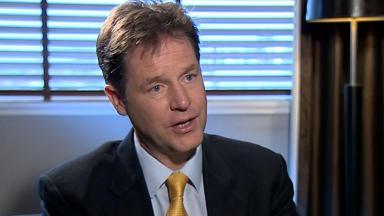 Nick Clegg Liberal Democrats lib dems interview October 6 2014
