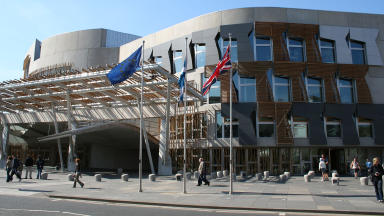 Scottish Parliament Holyrood politics MSPs external quality news generic image uploaded October 2014