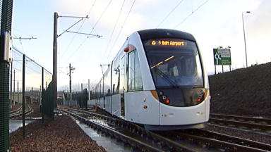 Trams: Ms Dugdale has called for an inquiry into the project.