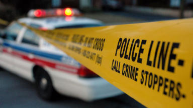 Police tape USA american crime scene quality news image anonymous Creative Commons image from Flickr
