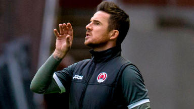 Barry Ferguson's team have been censured by the SPFL.