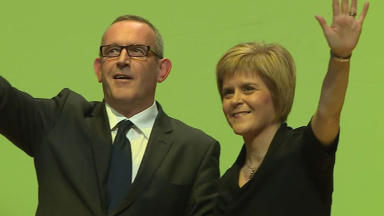 New team: Nicola Sturgeon gets a deputy.