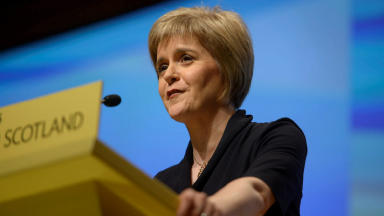 Nicola Sturgeon, SNP Conference November 14 2014