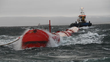 Pelamis: Funding for wave energy firms