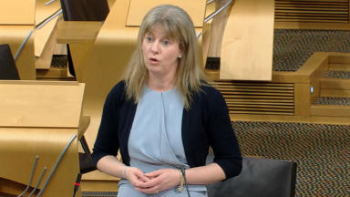 Health Secretary Shona Robison MSP in parliament C. diff apology uploaded November 25 2014