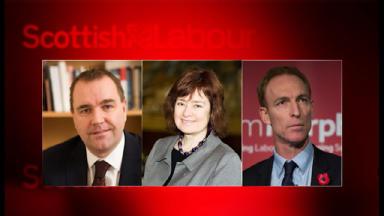Contenders: Neil Findlay, Sarah Boyack, Jim Murphy.