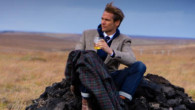 Harris Tweed: Partnered with Johnnie Walker last year to make whisky cloth.