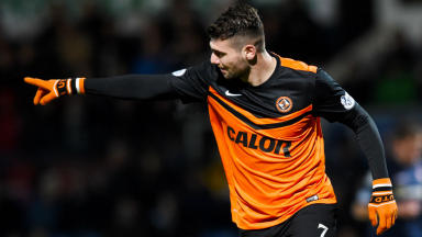 Double: Nadir Ciftci scored twice as the Tangerines left Dingwall with three points.