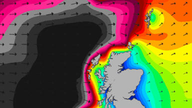 Winter storm expected to hit Scotland on December 10 2014