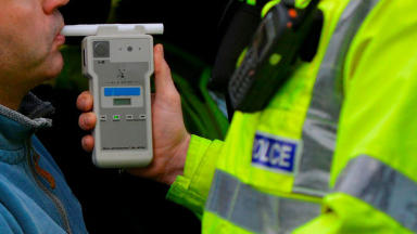 breathalyzer, Drink driving, breathalyser, drunk, drinkdriving, drink-driving, alcohol police scotland, quality news image uploaded December 9 2014