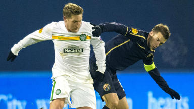 Kris Commons (left) says he wants to stay with Celtic.