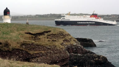 MV Loch Seaforth ferry operated by CalMac
