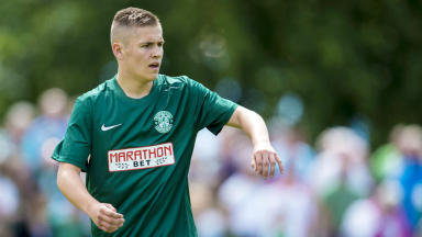 Talent: Scott Martin has already featured for the Hibs first team aged just 17.