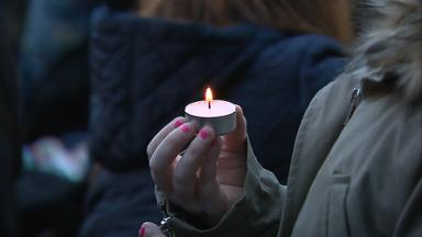 Anniversary: Church service for victims of bin lorry crash.