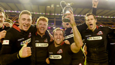 Edinburgh Rugby: Welcoming 20,000 fans to Murrayfield on Sunday.