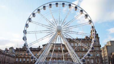 Big Wheel, George Square, Glasgow