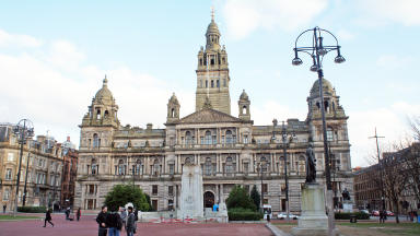 Protest: Union members will lobby Glasgow City Council.
