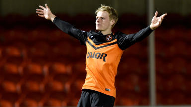 Gary Mackay-Steven has six months left on his Dundee United contract.