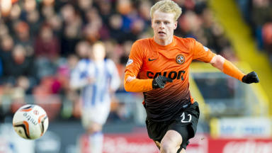 Gary Mackay-Steven scored for Dundee Utd against Hamilton on Monday.
