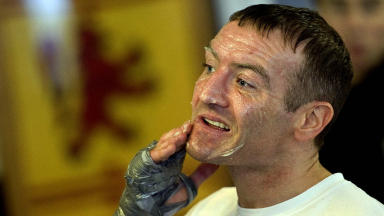 Scott Harrison: Former world champ[ion was jailed for attack in Malaga.