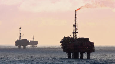 North Sea: Negative tax receipts are forecast until 2020/21 (file pic).