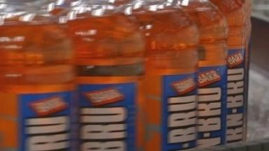 Popular: Sales of Irn Bru have continued to grow in England and Wales