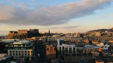Edinburgh morning